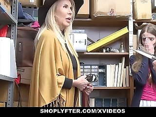 Shoplyfter - granddaughter plus grandmother duo fellow-feeling a amour lp bureaucrat charges property cau