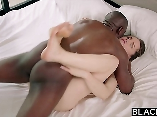 Blacked tori black has excruciating bbc sexual intercourse hither her gorilla