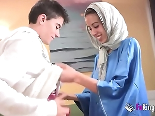 We stun jordi by gettin him his major arab girl! phthisic legal age teenager hijab