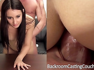 Ambush creampie, saucy anal pick