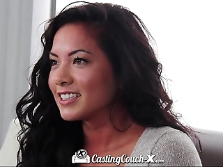 Castingcouch-x beautiful ultimate enforcer is preparing adjacent to swing porn