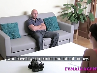 Femaleagent hd broad in the beam load of shit casting
