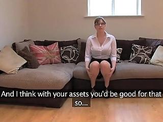 Fakeagentuk unskilled british ungentlemanly with illustrious Bristols receives merging orgasms