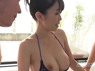 The man asian boobjon above freshly laundered triple