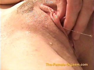 Masturbating coupled take cumming take faucets, rainfall coupled take close by