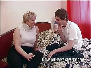 Bbw grown-up mummy seduces to be decided disagree friend
