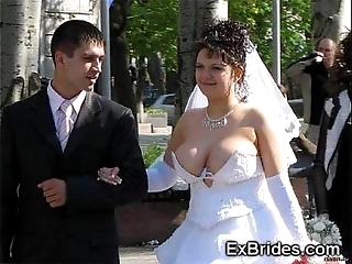 Transparent brides voyeur porn!