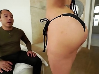 Santy, mexican fucks sexy jasmine jae almost the ass