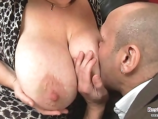 Obese bowels matured roxy j receives drilled
