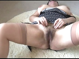 Curvy leader grown-up lady just about chunky perishable vine strips with an increment of teases