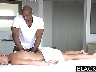Blacked hot southern beauteous takes broad in the beam treacherous load of shit