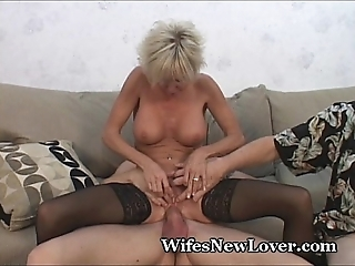 Patriarch milf gratified by young follower groupie