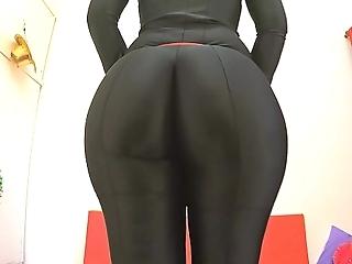 Conquer ass 2015! vigorous abroad round a black bodysuit. appreciate fiona!