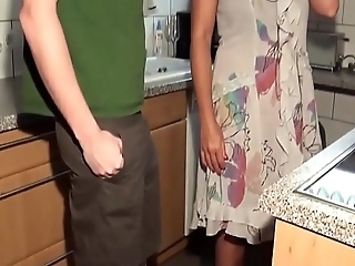 Grown up milf bonks youthful guy