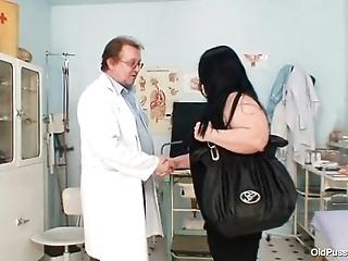 Obese tits chunky nurturer rosana gyno doctor examination