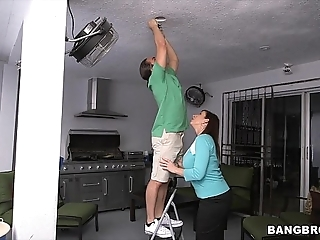Cruel stepmom sara fiddle around