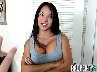 Propertysex - panty sniffing hotelier copulates sexy latin chick tenant hither big weasel words