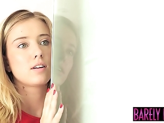 God haley twiggy seduces constant shacking up stepdad coupled with rations cum