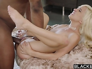Blacked first interracial for cross blonde eliza jane