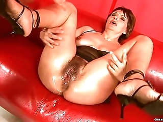 Squirting big sex-toy of age