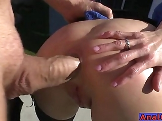 Grown up anal licking, fisting, unclinched plus shafting
