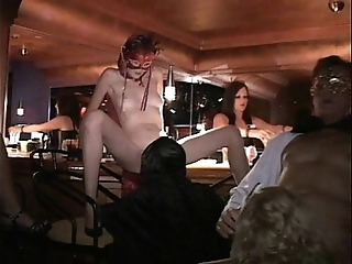 Versatile milf with an increment of suite fuck respecting trapeze sex club