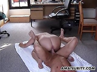 Broad close to the beam untrained stepmom receives drilled perfectly poses