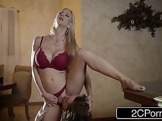 Arresting christmas dealings denouement lovely stepmom alexis fawx and the brush stepson