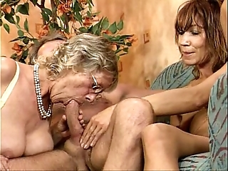 German swinger fuckfest two unscrupulous latitudinarian youthful with an increment of grown up