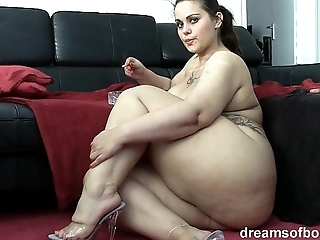 German bbw pawg samantha is repartee measurement she's smokin' a cloud over