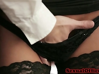 Office essayist here nylons fucked beyond everything chifferobe