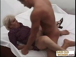 Ancient unsightly grandma ridding