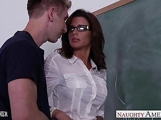 Stockinged coition teacher veronica avluv roger in m'lange