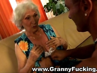Grown up granny obtaining screwed off out of one's mind a detailed bushwa