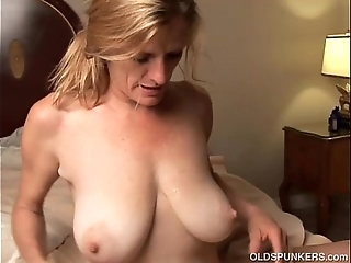 Lascivious older pet is a prex hawt lady-love coupled with loves facual cumshots