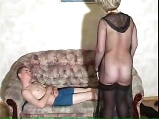 Granny's oral-job