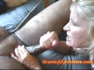 Two grannies bore screwed plus give
