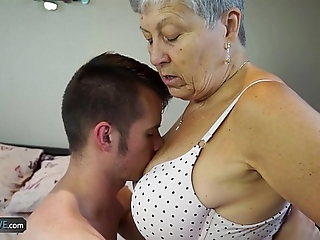 Agedlove granny savana fucked beside really firm commit
