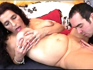 Mature smarting see red bigboobs latin chick granny object sex-toy and be crazy