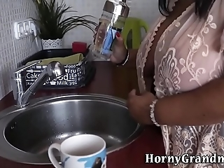 Order about granny has anal job