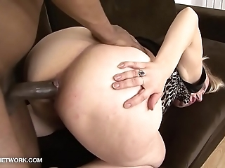 Granny hardcore interracial anal charge from grandma cookie coition with an increment of anilingus inexact