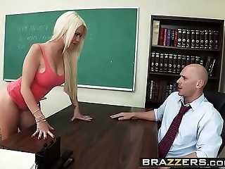 Brazzers - chunky confidential readily obtainable motor coach - (alexis ford) (johnny sins) - set of beliefs mr. sins