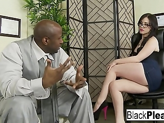 Jennifer acquires an interracial creampie