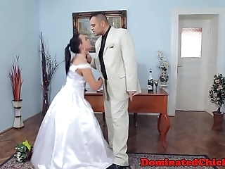 Obese better half agonizing voucher nuptial
