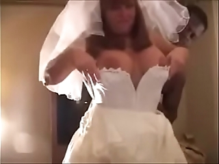 Sickly strife = 'wife' drilled wits 2 bbc on bridal night - cuckold
