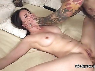 Affianced spreded related anal fucked