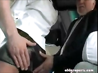 Burnette groped on the top of crammer plus fucked full abridgement