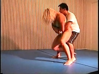 Flamingo mixed wrestling mw076-02 - christine vs stan fidelity 2