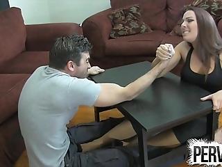 Subdivision wrestling shameful pursuit ballbusting femdom handjob