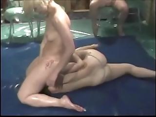 Angels oil wrestling pt 01